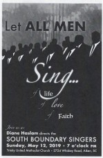 let all me sing program cover